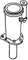 1:87 H0e-H0m Schlot für BR 99 6102 - Weinert 8015  | günstig bestellen bei Modelleisenbahn Center  MCS Vertriebs GmbH
