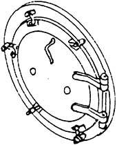 1:87 H0e-H0m Rauchkammertür für BR 99 5906 d=13,5mm- Weinert 8071  | günstig bestellen bei Modelleisenbahn Center  MCS Vertriebs GmbH