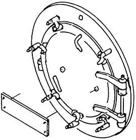 1:87 H0e-H0m Rauchkammertür für BR 99 7239 (1E1) d=19,4mm- Weinert 8076  | günstig bestellen bei Modelleisenbahn Center  MCS Vertriebs GmbH