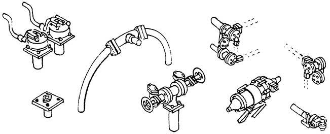 1:87 H0e-H0m Kesselventile für Mallet BR 99 5906- Weinert 8191  | günstig bestellen bei Modelleisenbahn Center  MCS Vertriebs GmbH