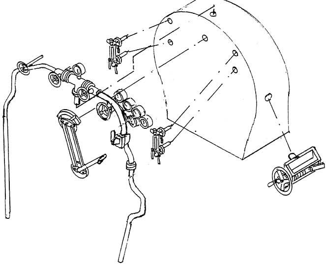 1:87 Stehkesselinneneinrichtung mit Armaturen für BR 64, 80, 86, 81, 87 - Weinert 82017    günstig bestellen bei Modelleisenbahn Center  MCS Vertriebs GmbH