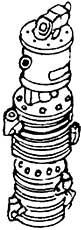 1:87 Luftpumpe zweistufig,Westing- house mit Schleppschieber- steuerung, 1 St., - Weinert 8405  | günstig bestellen bei Modelleisenbahn Center  MCS Vertriebs GmbH
