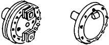 1:87 Oberflächenvorwärmer Detail- lierungsplatten rechts+links mit Flanschen für BR 03 WM - Weinert 8426  | günstig bestellen bei Modelleisenbahn Center  MCS Vertriebs GmbH