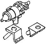 1:87 Generator mit 2 Befestiguns- winkeln, 1 Stück- Weinert 8456  | günstig bestellen bei Modelleisenbahn Center  MCS Vertriebs GmbH