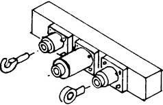 1:87 H0e-H0m Pufferbohle für Schmalspurfahrzeuge, 2 Stück,- Weinert 8496  | günstig bestellen bei Modelleisenbahn Center  MCS Vertriebs GmbH