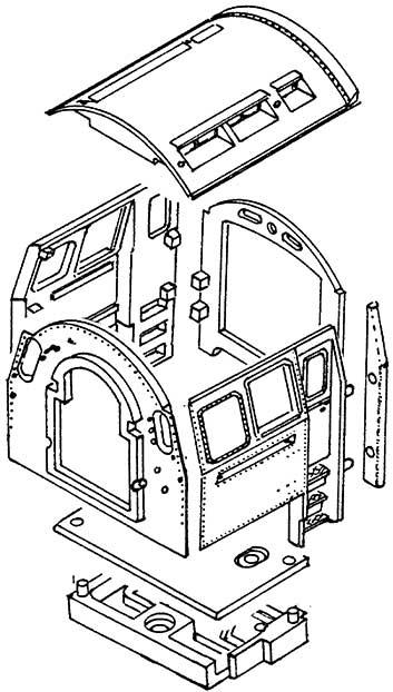 1:87 Führerhaus BR 03.10, BR 01.10 Weißmetall- Weinert 85651  | günstig bestellen bei Modelleisenbahn Center  MCS Vertriebs GmbH