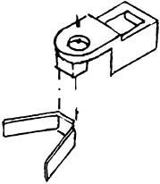 1:87 NEM-Kupplungsaufnahme mit Bronzefedern zum Anschrauben 1 Stück - Weinert 8651  | günstig bestellen bei Modelleisenbahn Center  MCS Vertriebs GmbH