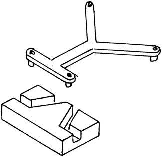 1:87 Kurzkupplungsbügel m. Kulisse für Tender 4047 und Roco BR 57 1 Stück - Weinert 8652  | günstig bestellen bei Modelleisenbahn Center  MCS Vertriebs GmbH