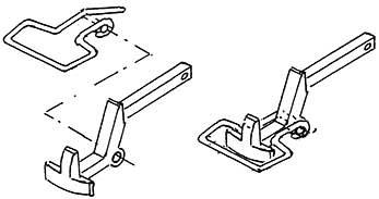 1:87 Bügelkupplung zu Einstecken in die Pufferbohle, 2 Stück- Weinert 86565  | günstig bestellen bei Modelleisenbahn Center  MCS Vertriebs GmbH