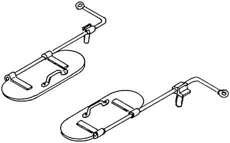 1:87 Wasserkastendeckelklappen für BR 01.10, 1 Paar- Weinert 86602  | günstig bestellen bei Modelleisenbahn Center  MCS Vertriebs GmbH