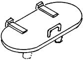 1:87 Manndeckel für Tender 2�2�T32, 3 St. - Weinert 86608  | günstig bestellen bei Modelleisenbahn Center  MCS Vertriebs GmbH