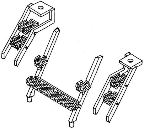 1:87 Aufstiegstritte für BR 85 1 Satz- Weinert 87016  | günstig bestellen bei Modelleisenbahn Center  MCS Vertriebs GmbH