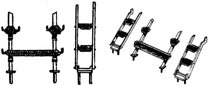 1:87 Rauchkammerstütze mit Tritten z.B. für BR 43 - Weinert 87035  | günstig bestellen bei Modelleisenbahn Center  MCS Vertriebs GmbH