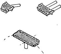 1:87 Aufstiegstritte für Lokkessel, 6 x kleiin, 6 x mittel, 1 großer für Kesselscheitel - Weinert 8710  | günstig bestellen bei Modelleisenbahn Center  MCS Vertriebs GmbH