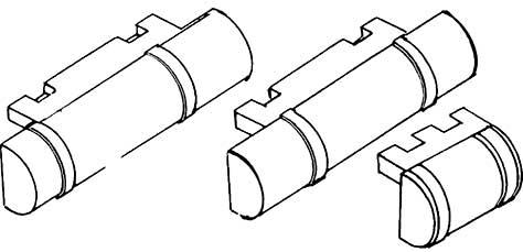 1:87 Bremsdruckluftkessel, Halb- relief Weißmetall, 3 Größen je 1 Stück - Weinert 8920  | günstig bestellen bei Modelleisenbahn Center  MCS Vertriebs GmbH