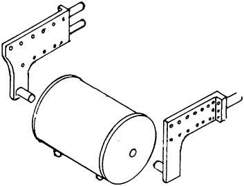1:87 Bremsluftbehälter für BR 55 mit Halter, 1 Stück- Weinert 8923  | günstig bestellen bei Modelleisenbahn Center  MCS Vertriebs GmbH
