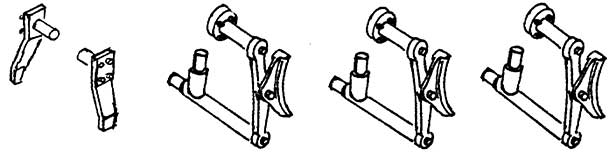 1:87 Bremsen und Schieneräumer für ELNA, 1 Satz- Weinert 89306  | günstig bestellen bei Modelleisenbahn Center  MCS Vertriebs GmbH