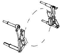 1:87 Bremsbacken mit einem Brems- eisen für Rad d=16,5-17,5mm z.B. für BR 71, 4 Paar - Weinert 8935  | günstig bestellen bei Modelleisenbahn Center  MCS Vertriebs GmbH