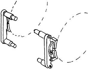 1:87 Bremsen für V 20, 2 Paar - Weinert 8937  | günstig bestellen bei Modelleisenbahn Center  MCS Vertriebs GmbH