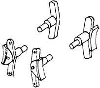 1:87 H0e-H0m Bremsen für SChmalspurloks, 2 Paar- Weinert 8944  | günstig bestellen bei Modelleisenbahn Center  MCS Vertriebs GmbH