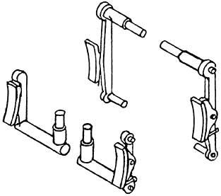 1:87 Bremsen für BR 93, 4 Paar - Weinert 8947  | günstig bestellen bei Modelleisenbahn Center  MCS Vertriebs GmbH