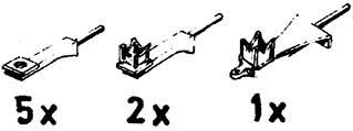 1:87 Halter für Loklaternen, 8 Stück - Weinert 90011  - 3 verschiedene Ausführungen | günstig bestellen bei Modelleisenbahn Center  MCS Vertriebs GmbH