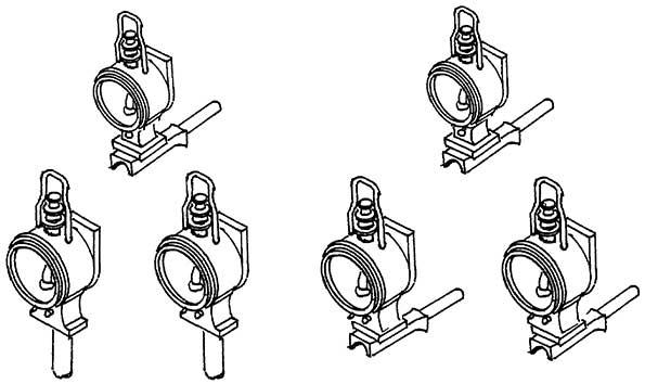 1:87 Königlich Bay. Loklaternen mit Blindbehälter, 6 Stück- Weinert 90052  | günstig bestellen bei Modelleisenbahn Center  MCS Vertriebs GmbH