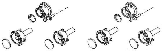1:87 Laternen für Triebwagen (4x) und Spitzenlichthalter (2x)- Weinert 90057  | günstig bestellen bei Modelleisenbahn Center  MCS Vertriebs GmbH