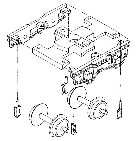 1:87 H0e Drehgestellblenden für Weyer-Wagen, 11,5mm Achsabstand. 2 Stück - Weinert 9051  | günstig bestellen bei Modelleisenbahn Center  MCS Vertriebs GmbH