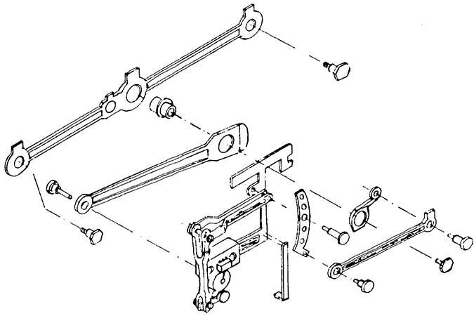 1:87 Steuerung BR 23 (Roco), Gleit- lagerausführung, Ätzblech und 10 Nieten - Weinert 9210  | günstig bestellen bei Modelleisenbahn Center  MCS Vertriebs GmbH