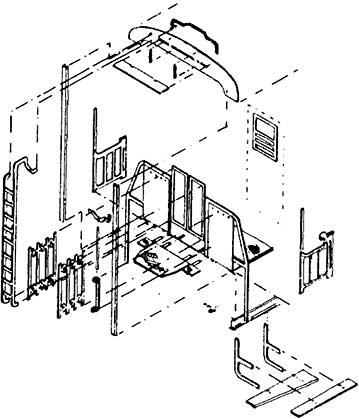 1:87 Übergangsbleche und Geländer für C3i bay 99a, 1 Satz- Weinert 9253 für Fleischmann 5002 | günstig bestellen bei Modelleisenbahn Center  MCS Vertriebs GmbH
