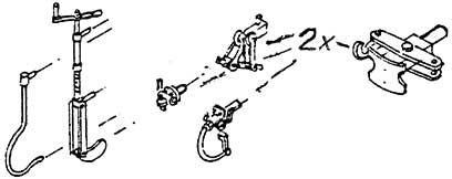1:87 H0e-H0m Bremskurbel, Bremsschläuche, E-Kupplung, Heiz-+Mittelpufferkupplung - Weinert 92671  | günstig bestellen bei Modelleisenbahn Center  MCS Vertriebs GmbH