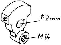 1:87 Blindwelle für V 65, 2 Stück - Weinert 9400  | günstig bestellen bei Modelleisenbahn Center  MCS Vertriebs GmbH