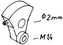 1:87 Blindwelle V 20, V36, 2 Stück - Weinert 9401  | günstig bestellen bei Modelleisenbahn Center  MCS Vertriebs GmbH