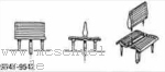 1:87 Sitzbänke 2-sitzig für 3.Klasse holzfarben,  12 Stück  - Weinert 9541  | günstig bestellen bei Modelleisenbahn Center  MCS Vertriebs GmbH
