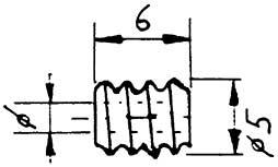 Schnecke, Modul 0,5, Bohrung 1,48mm, KS, 1 Stück-Weinert 9653  | günstig bestellen bei Modelleisenbahn Center  MCS Vertriebs GmbH