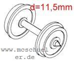 Ade - RP25 Scheiben-Radsätze achsmittig isoliert - Weinert 9729  - 2 Stück  | günstig bestellen bei Modelleisenbahn Center  MCS Vertriebs GmbH