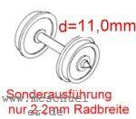 Ade RP25 FineScale Scheiben-Radsätze d=11,0mm - Weinert 2 Stück mit Spitzenweite 22,9mm | günstig bestellen bei Modelleisenbahn Center  MCS Vertriebs GmbH