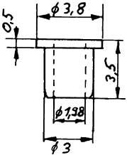 Isolierbuchse, d=1,97mm für Räder-Weinert 9887    günstig bestellen bei Modelleisenbahn Center  MCS Vertriebs GmbH