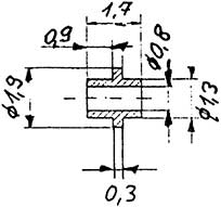 Buchse mit Ring, 2 Stück-Weinert 98882    günstig bestellen bei Modelleisenbahn Center  MCS Vertriebs GmbH