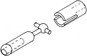 Kardangelenk für 2mm Bohrung-Weinert 9919  | günstig bestellen bei Modelleisenbahn Center  MCS Vertriebs GmbH