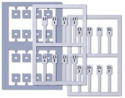 Spur 0 Kilometersteine, 16 Stück - Busch 10259 - Bausatz in Lasercut-Technik | günstig bestellen bei Modelleisenbahn Center  MCS Vertriebs GmbH
