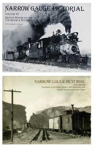 Narrow Gauge Pictorial - Colorado + Southern - 2 Bände komplett  - detaillierte Fotos des Rollmaterials der Bahngesellschaften | günstig bestellen bei Modelleisenbahn Center  MCS Vertriebs GmbH
