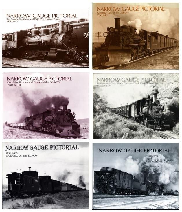 Narrow Gauge Pictorial - Rio Grande Southern + DRGW - 6 Bände  komplett  - detaillierte Fotos des Rollmaterials der beiden Bahngesellschaften | günstig bestellen bei Modelleisenbahn Center  MCS Vertriebs GmbH