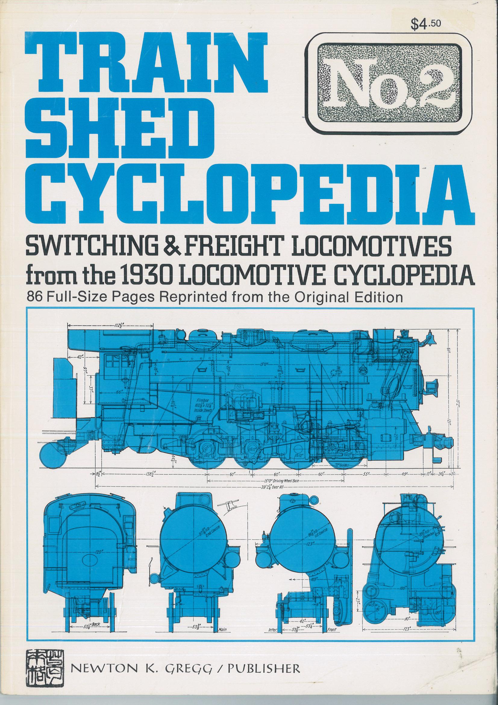 Train Shed Cyclopedia No. 2: Switching & Freight Locomotives from the 1930 Locomotive Cyclopedia  | günstig bestellen bei Modelleisenbahn Center  MCS Vertriebs GmbH
