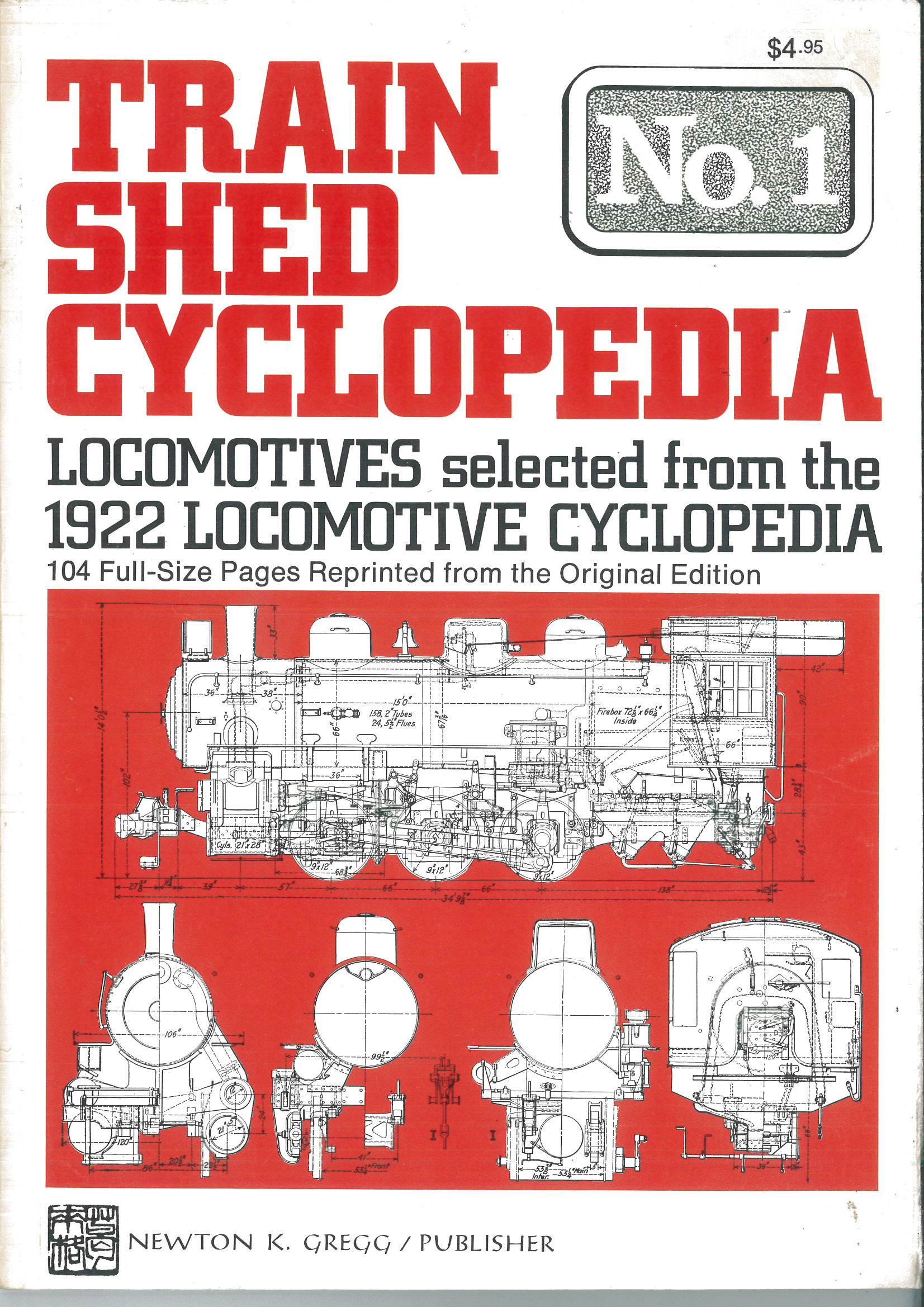 Train Shed Cyclopedia No. 1: Locomotives from the 1922 Cyclopedia  | günstig bestellen bei Modelleisenbahn Center  MCS Vertriebs GmbH