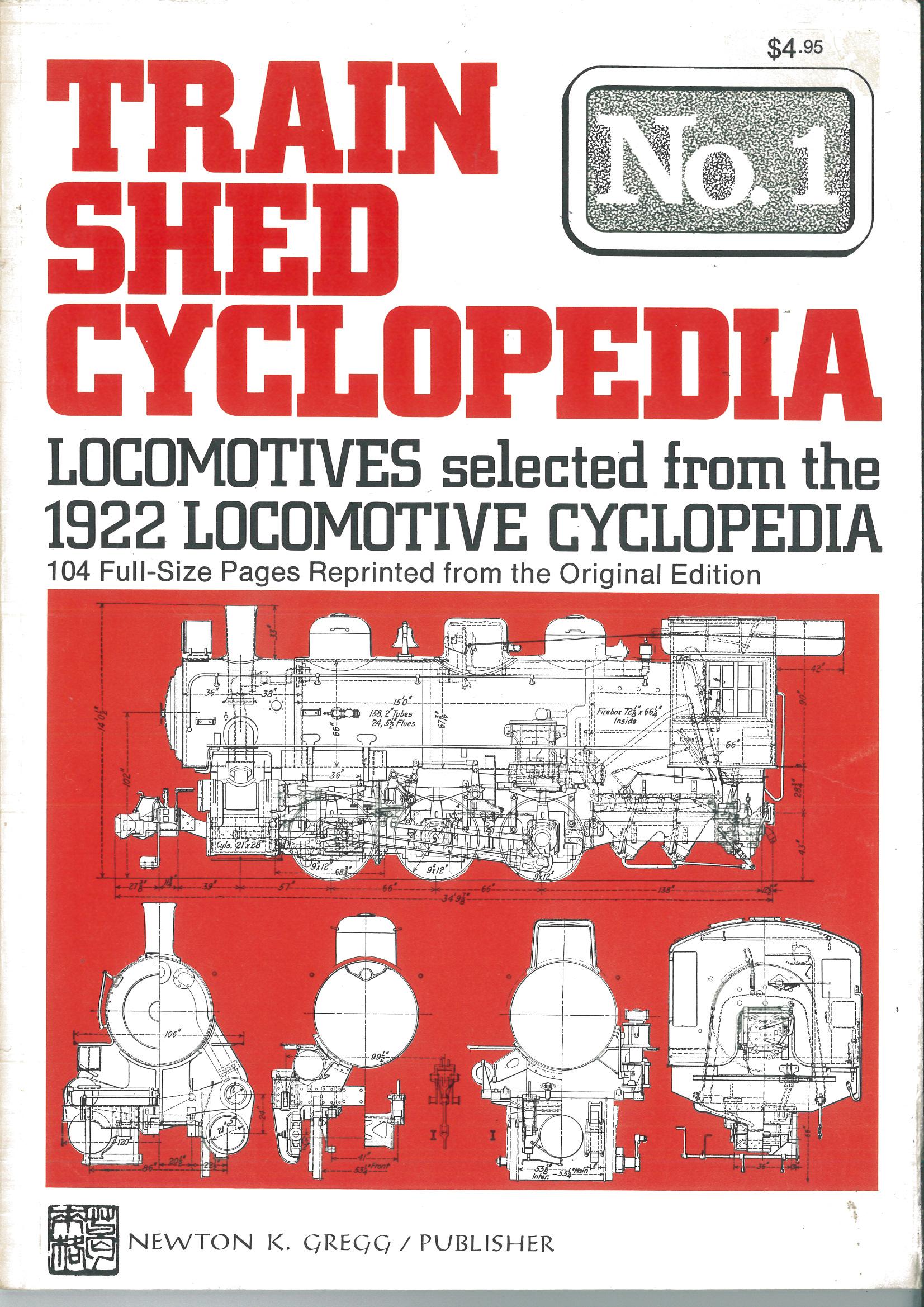 Train Shed Cyclopedia No. 1: Locomotives from the 1922 Cyclopedia  | günstig bestellen bei Modelleisenbahn Center  MCS Vertriebs GmbH