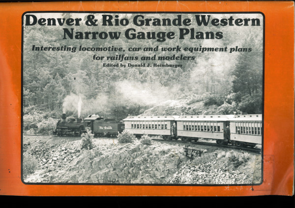 Denver & Rio Grande Western Narrow Gauge Plans  - many plans of rolling stock | günstig bestellen bei Modelleisenbahn Center  MCS Vertriebs GmbH