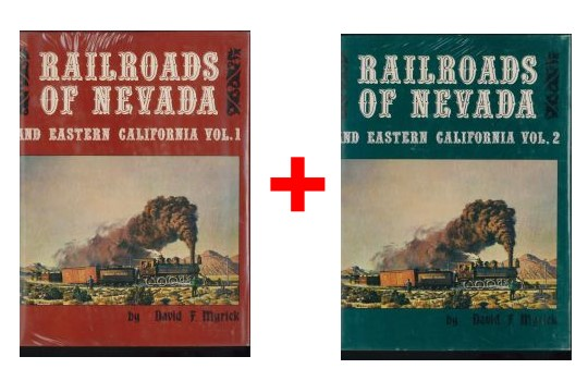 Railroads of Nevada and Eastern California, Vol. 1 + 2 - TOPP-Zustand  - David F. Myrick - 2 Bände | günstig bestellen bei Modelleisenbahn Center  MCS Vertriebs GmbH