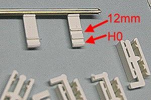 H0m + H0 Schwellen für Rillenschienen, 20 Stück - Swedtram  | günstig bestellen bei Modelleisenbahn Center  MCS Vertriebs GmbH
